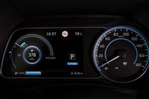 Nissan Leaf Meter